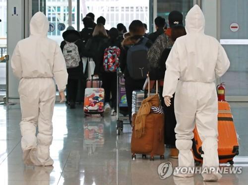 南韓有2.7萬人居家隔離 七成為入境人員