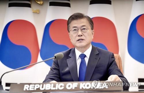 文在寅今線上出席東盟與韓中日領導人會議