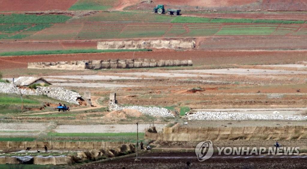 韓官員推測朝鮮今年糧食缺口為86萬噸