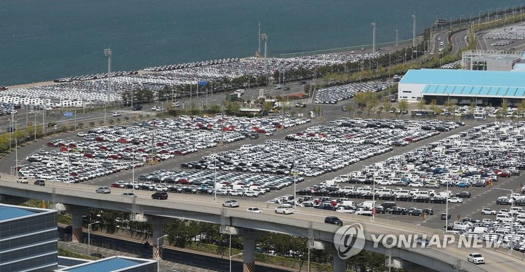 現代汽車4月海外銷量大減七成