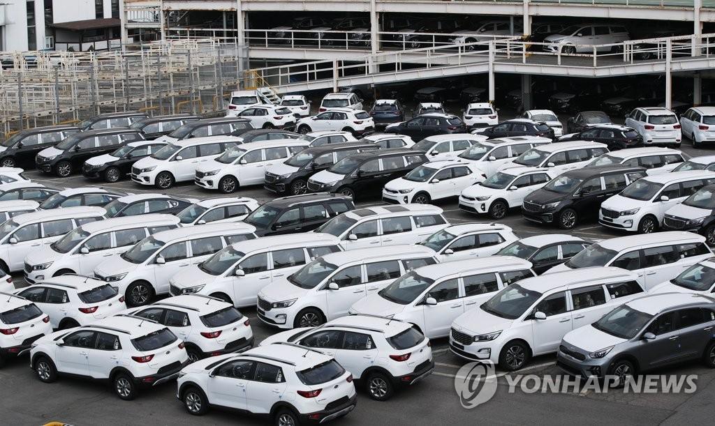 南韓4月汽車出口同比減少36%