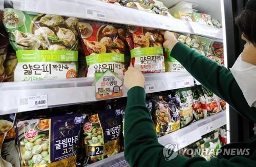 韓2020年速凍餃子出口額破5000萬美元創新高