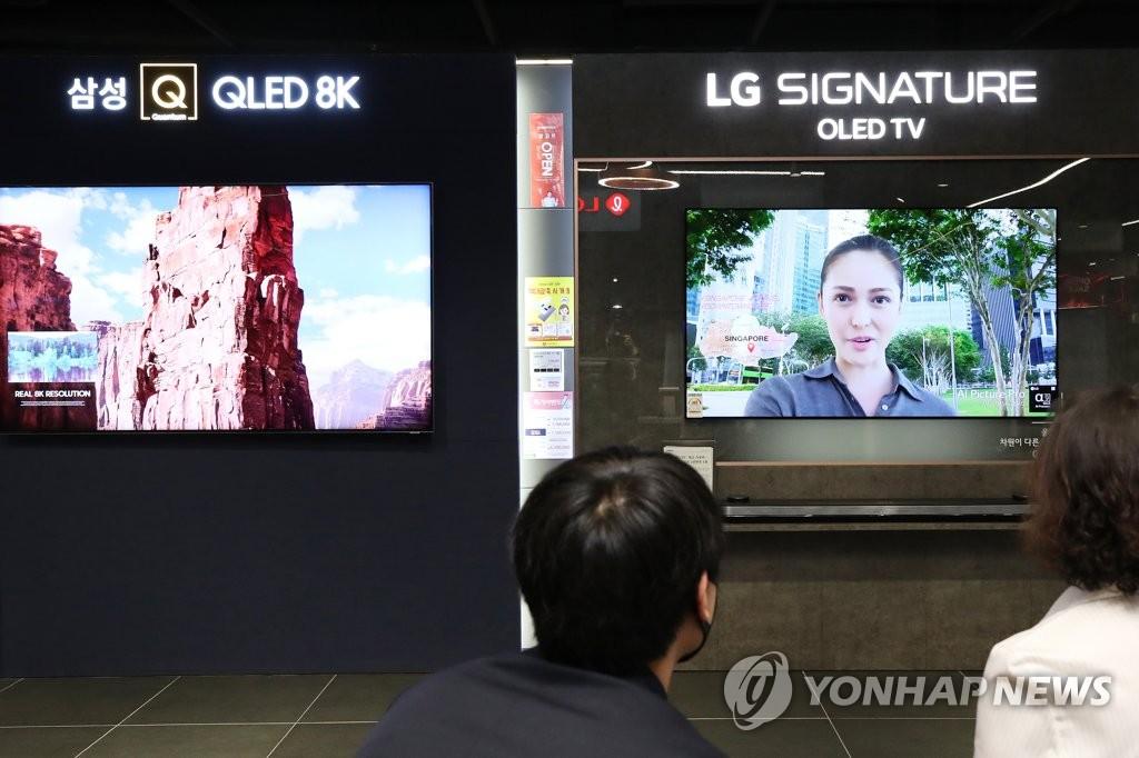 疫情下全球電視市場萎縮 韓企出貨量不減反增
