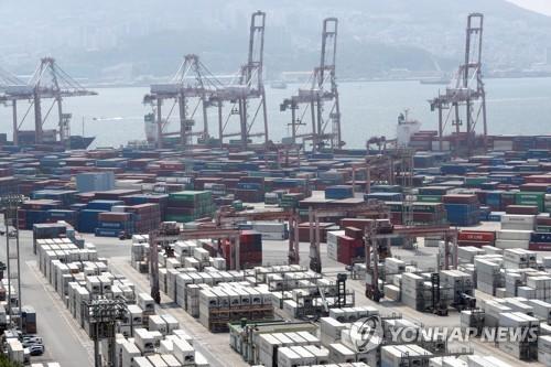 南韓5月前10天出口同比減46.3%