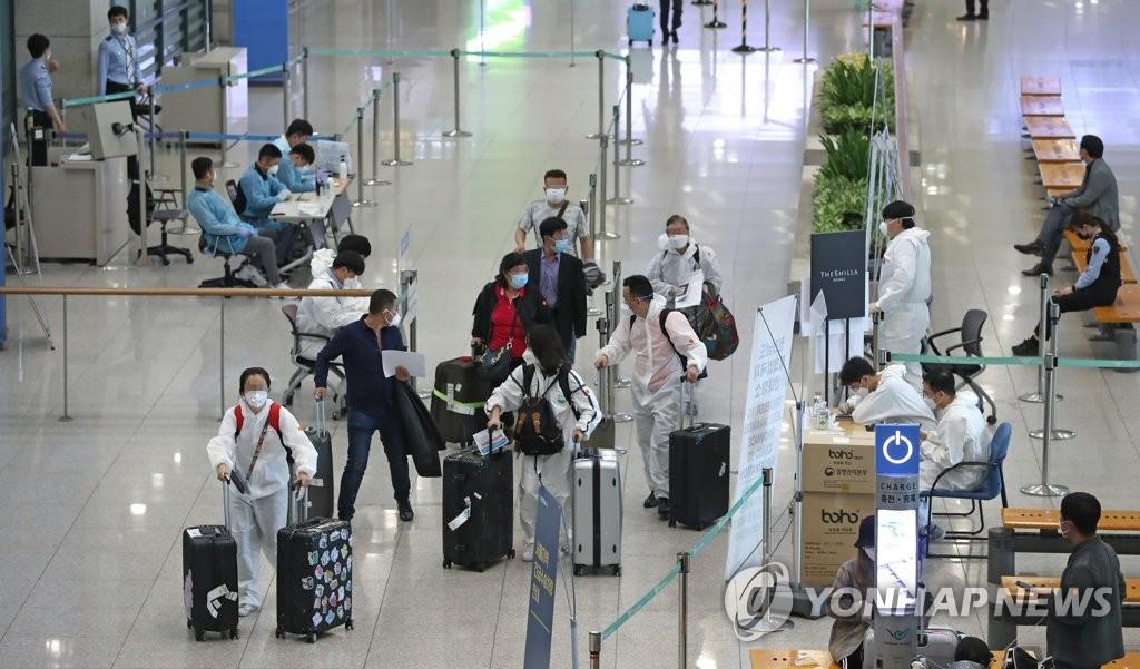 南韓加強對自科入境者的檢疫警示當地感染風險