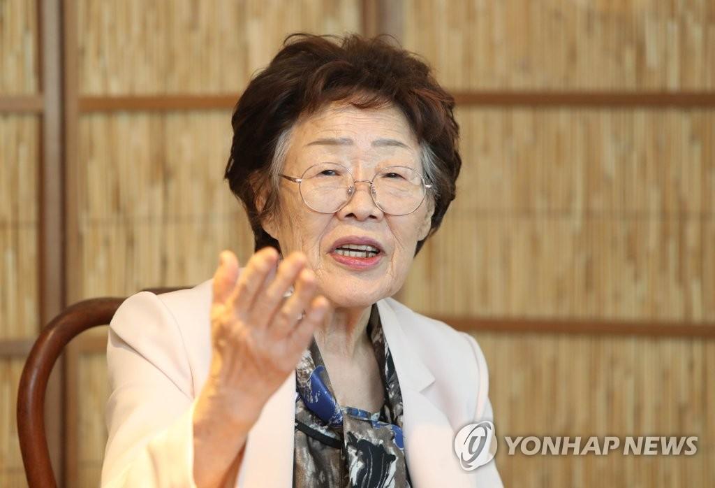 揭醜慰安婦受害者李容洙下周將再開記者會