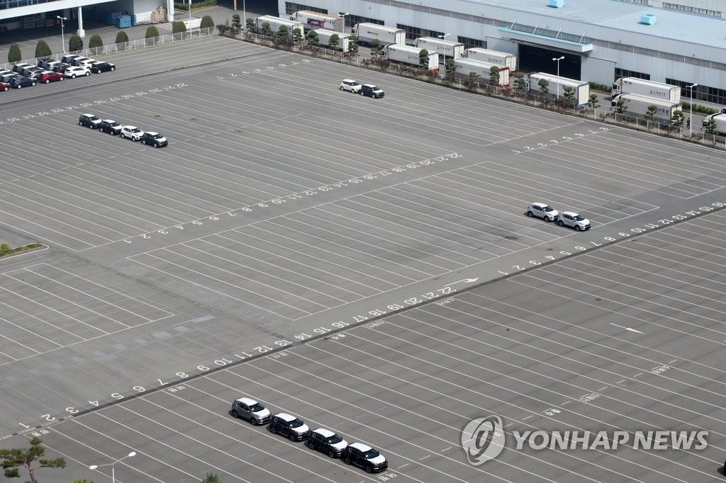 南韓第二季度乘用車出口同比下滑40.6%