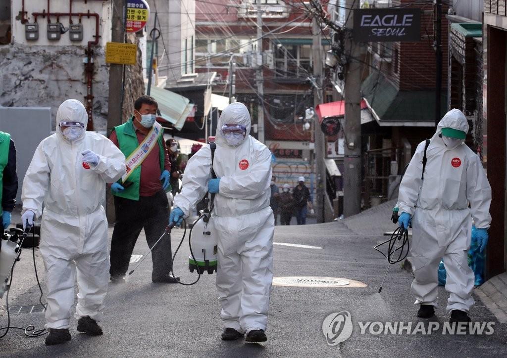 南韓梨泰院相關新冠病例感染源或來自歐美