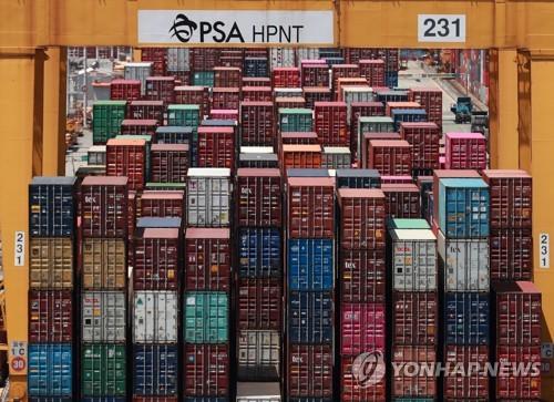 前三季南韓與自貿協定生效國貿易順差404億美元