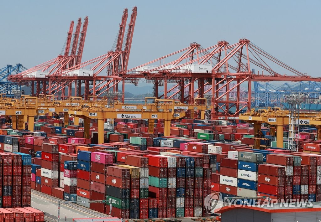 南韓8月前20天出口同比減少7%
