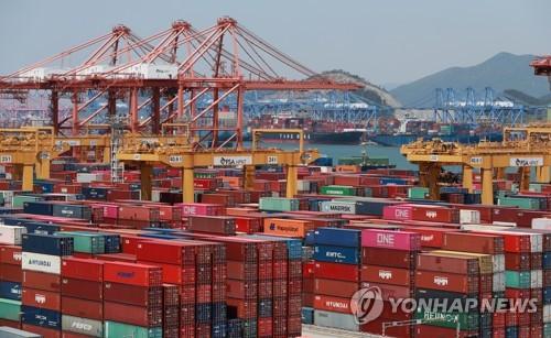 南韓9月前10天出口同比減少0.2%
