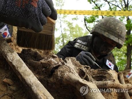 韓軍今暫停非軍事區韓戰遺骸發掘工作