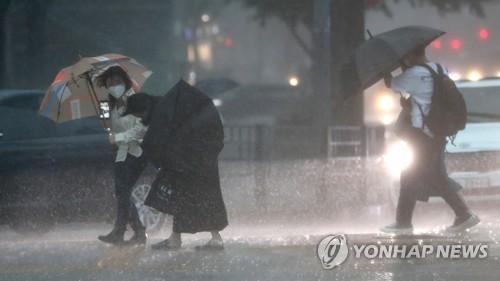韓全境今明兩日將有強風雨來襲
