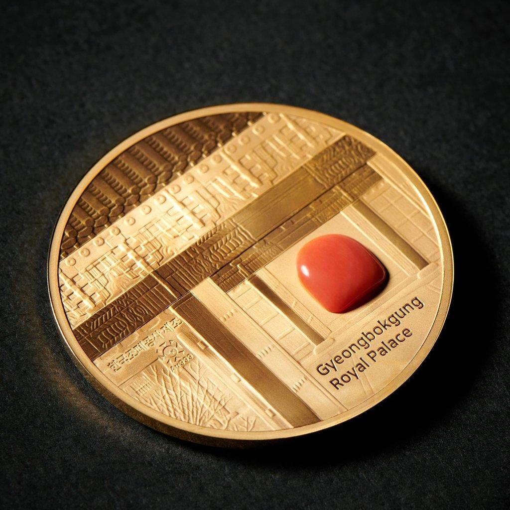 韓文物廳推出王室系列紀念幣