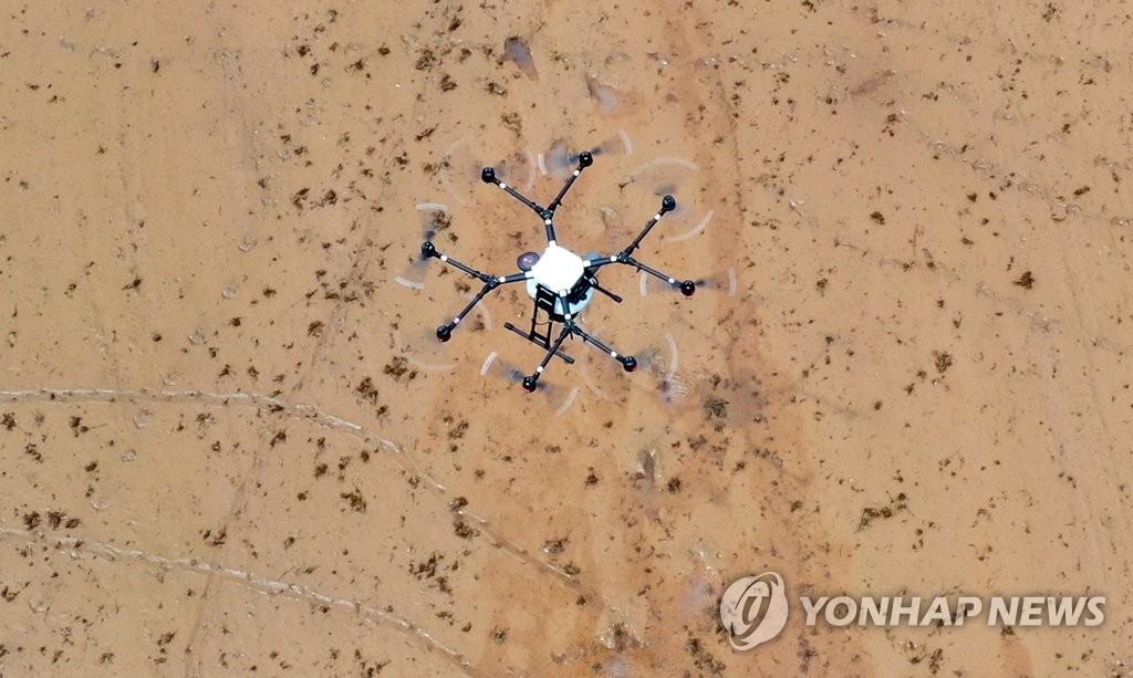 無人機空中播種