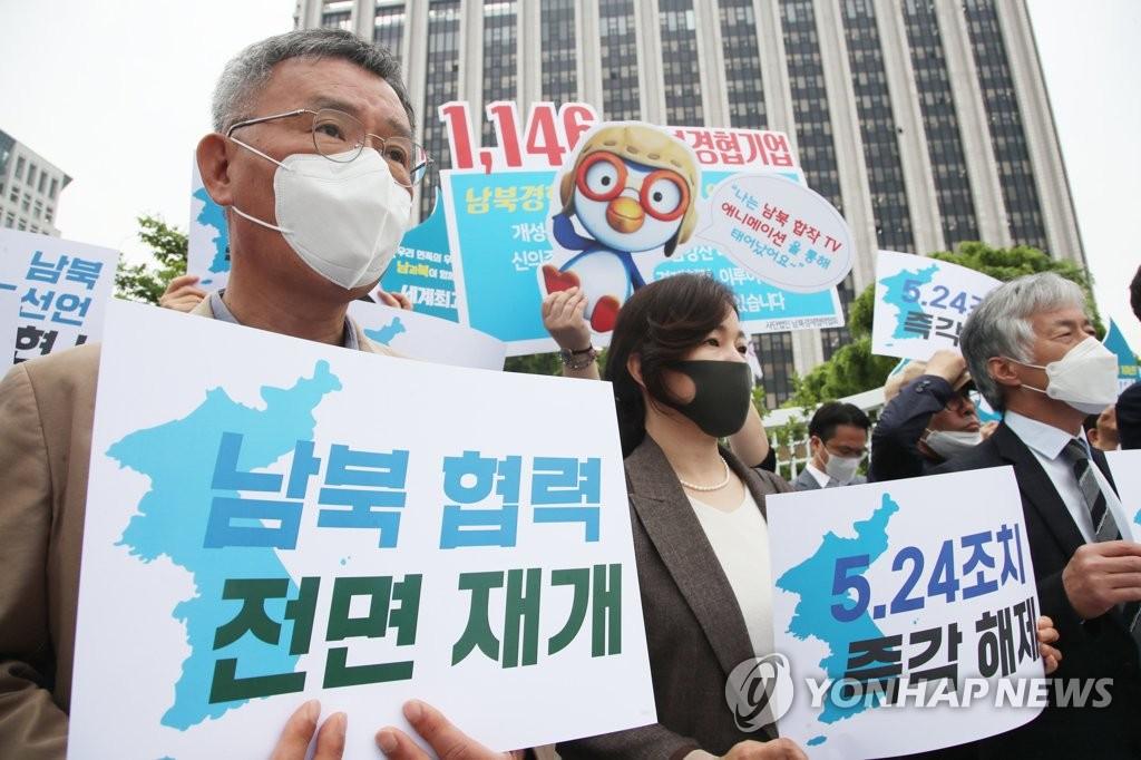 敦促重啟韓朝合作