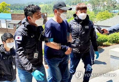 韓海警拘捕1名中國偷渡客