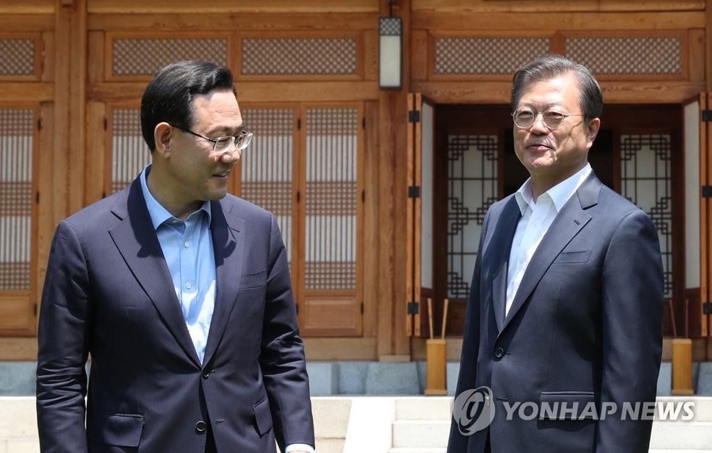文在寅:南韓常規戰鬥力遠超朝鮮