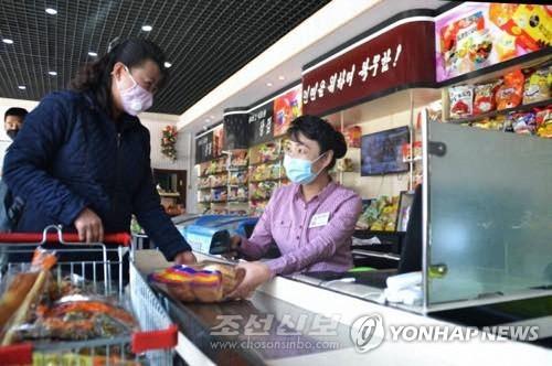朝鮮商店迎新變化轉型為選購式超市