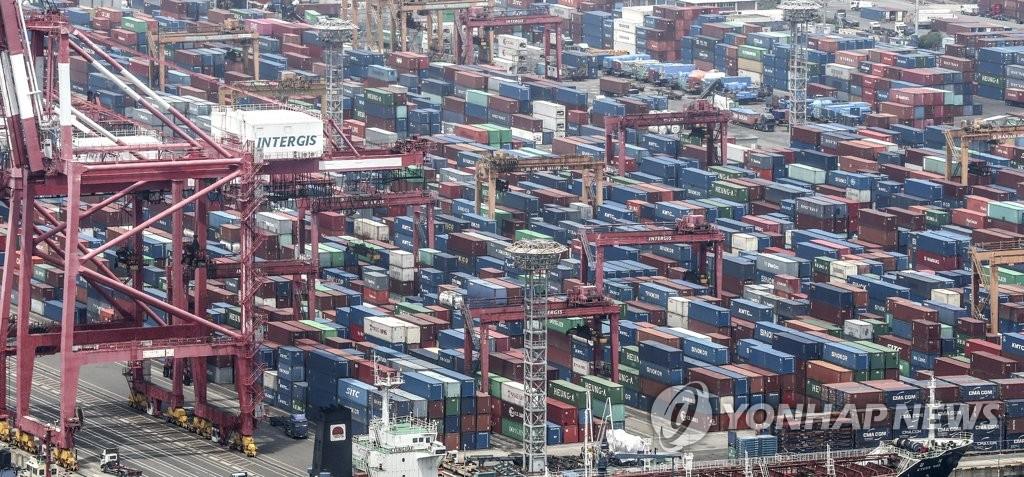 南韓2019年對華經常項目順差創近十年新低