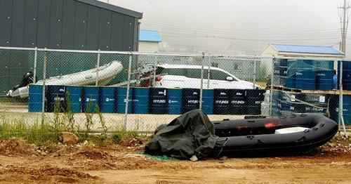 韓海警抓獲21名中國偷渡客