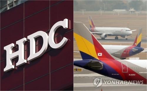 HDC現代產業完成與韓亞航空合併業務海外批准流程