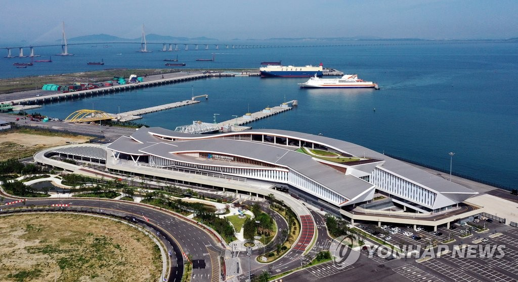 南韓仁川港新國際客運站正式投運