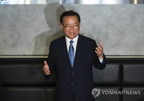 韓執政黨前議員金富謙宣佈競選黨首