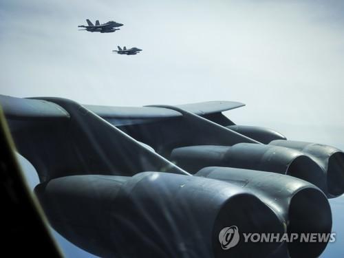 美B-52轟炸機飛臨日本或意在間接警告朝鮮