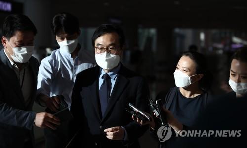 南韓對朝代表李度勳結束訪美之行回國