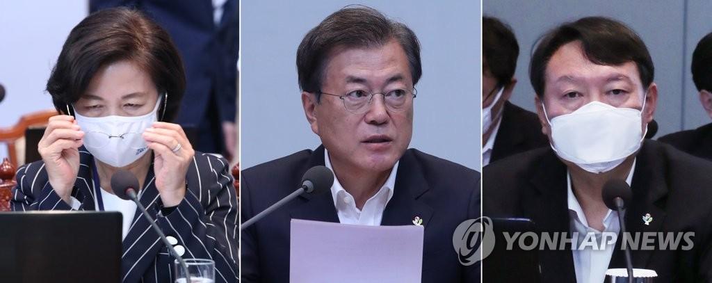 詳訊:文在寅批准處分檢察總長 法務部長請辭
