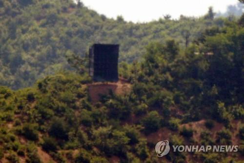 韓統一部對朝方重裝邊境擴音器表遺憾