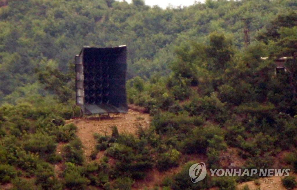 詳訊:朝鮮似在邊境拆除對韓喊話設備