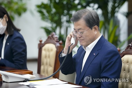 韓土領導人通電話共商抗疫和經濟合作