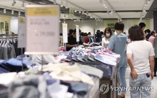韓5月零售企業銷售同比增長2%