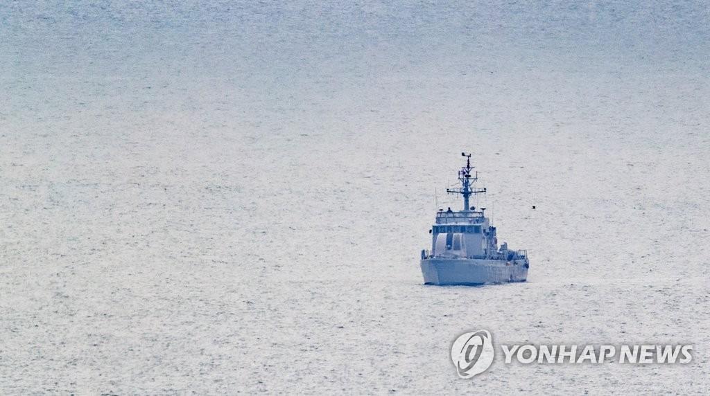 韓失蹤公務員棄韓投朝途中遭射殺火化