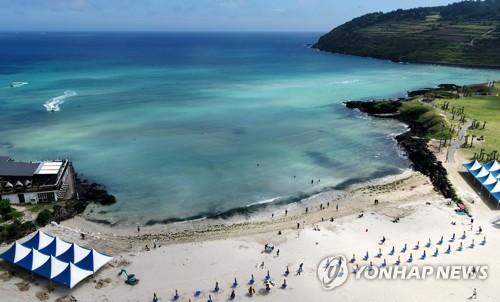 濟州海水浴場正式開放