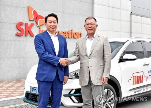 現代汽車SK創新開展動力電池全週期合作