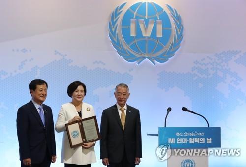 韓第一夫人吁國際合作研發新冠疫苗