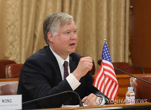 南韓國安首長徐薰會見美國副國務卿比根