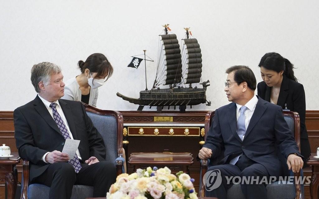 詳訊:南韓國安首長徐薰會見美國副國務卿比根