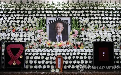 悼念韓戰英雄白善燁