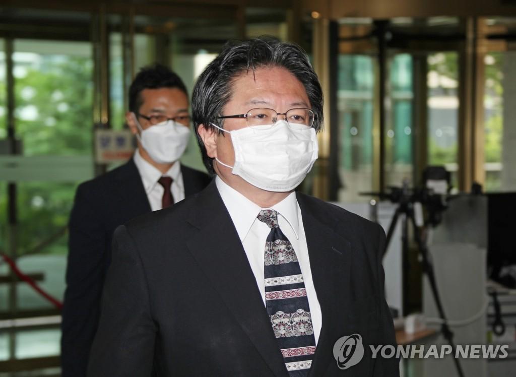 韓政府召見日本駐韓公使