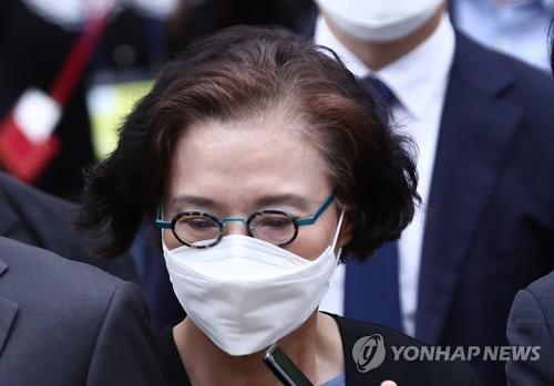 韓進集團前會長夫人涉施暴獲刑2年緩刑3年