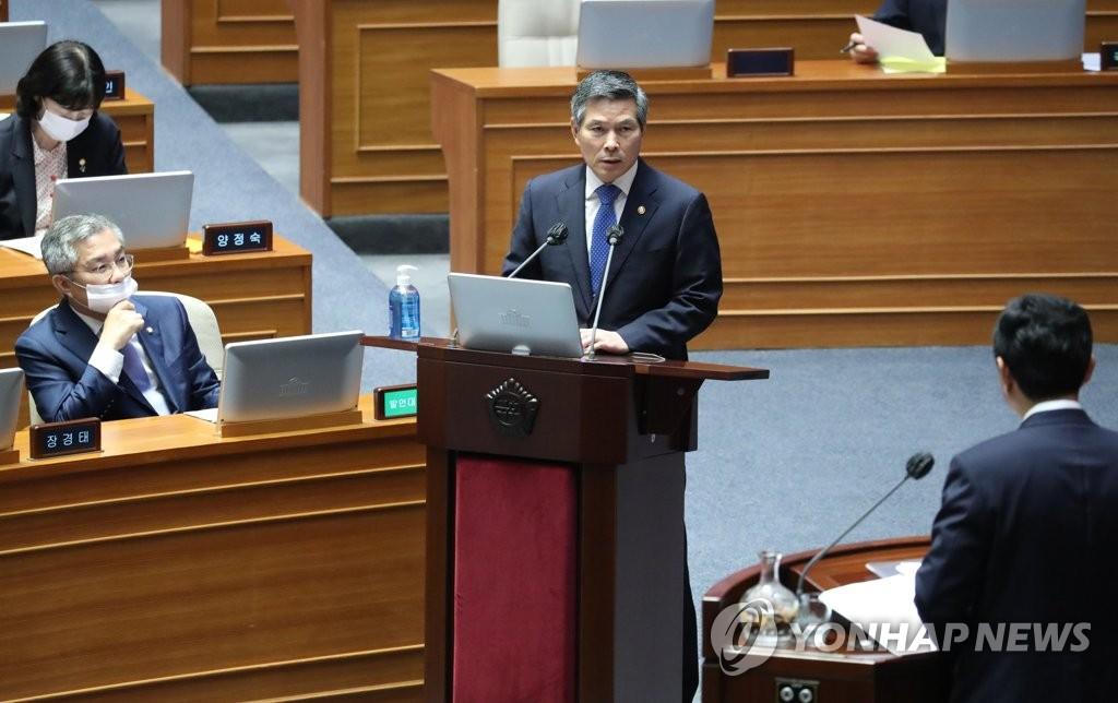 韓防長:有必要借聯演鞏固國安和韓美聯防態勢