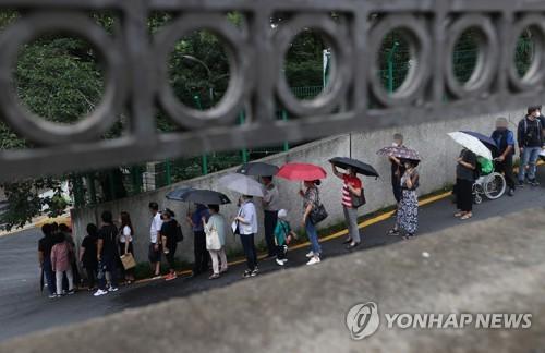 中國今起受理南韓必要人員簽證申請