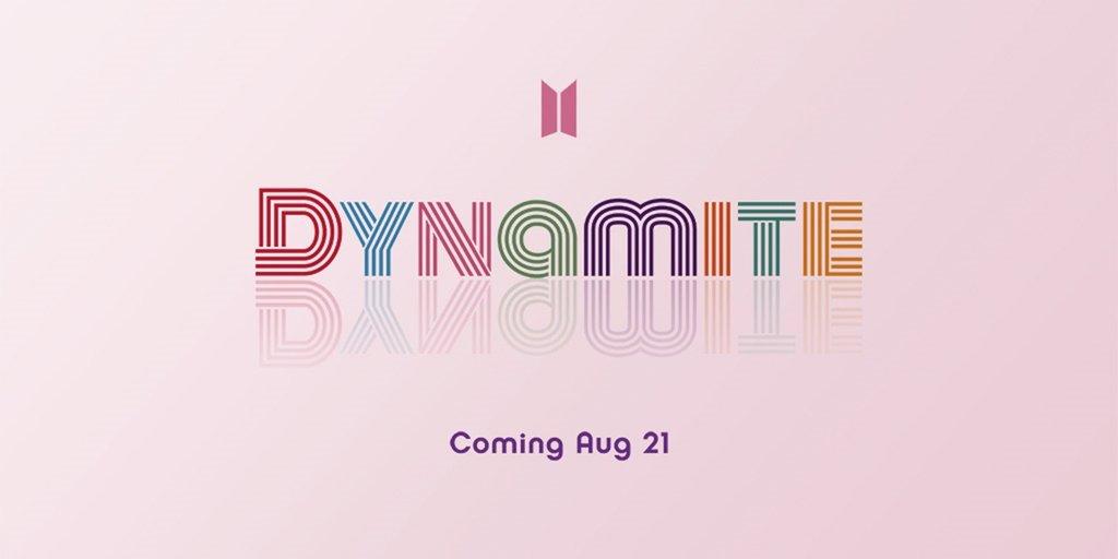 資料圖片:防彈少年團英文新歌《Dynamite》預告圖 Big Hit娛樂供圖 (圖片嚴禁轉載複製)