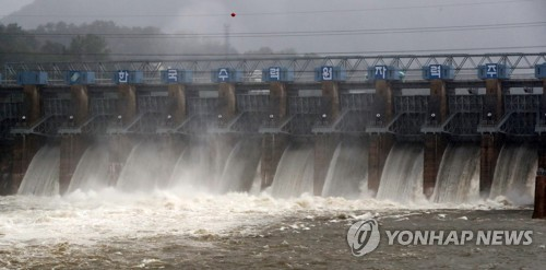 春川壩泄洪