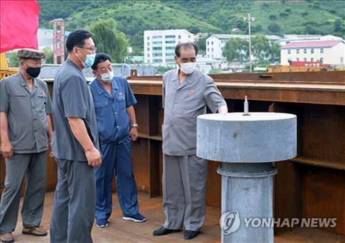 朝鮮高官檢查防疫工作