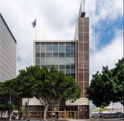 韓駐洛杉磯總領館因疫情被封